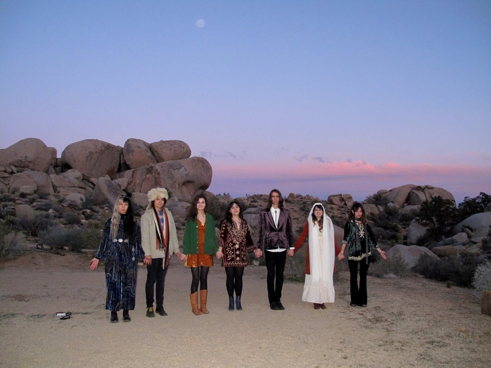 Friends at Moonrise Ceremony