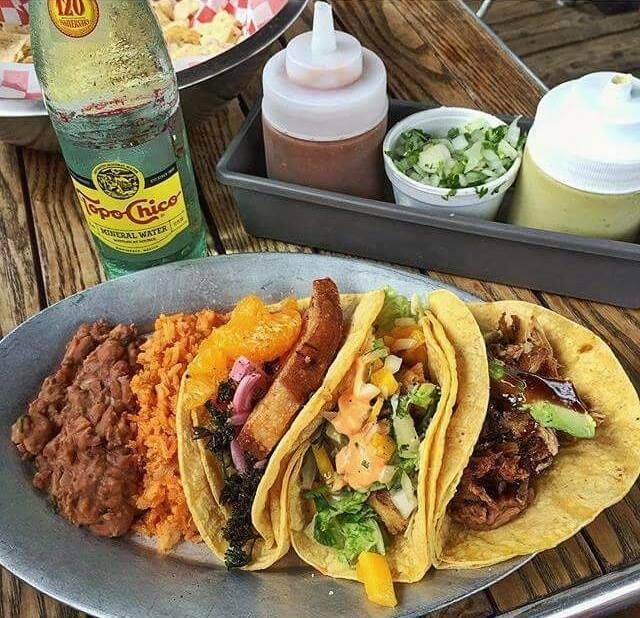 Tyson's Tacos with Salsa